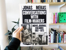 Load image into Gallery viewer, Jonas Mekas – Conversations with Filmmakers