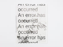 Load image into Gallery viewer, Rohan Hutchinson - An error has occurred