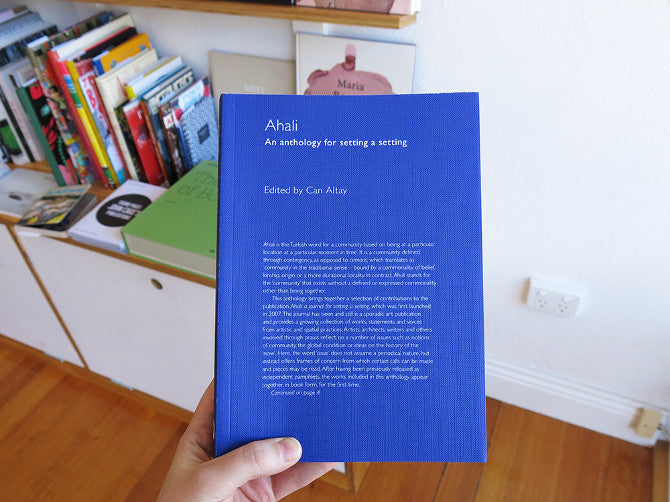 Can Altay - Ahali: An Anthology for Setting a Setting