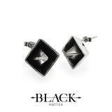 Obelisk: Stud Earrings
