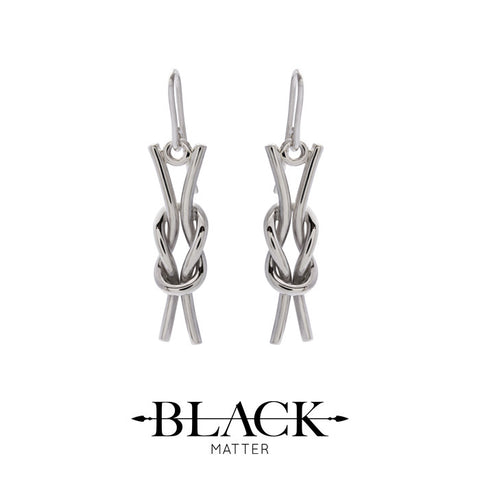 Nautical: Reef Knot Earrings