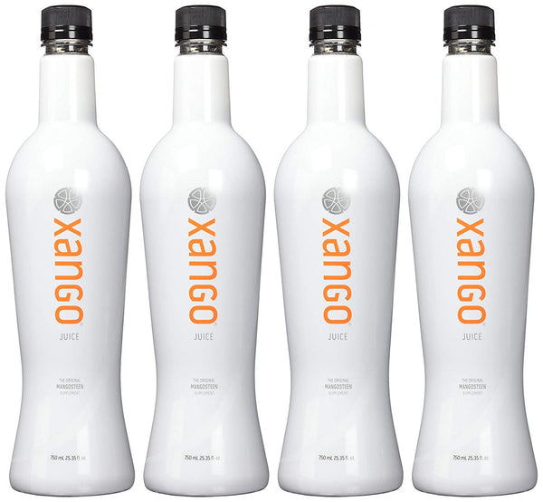 XANGO Mangosteen Juice, 1 case of 4 bottles