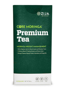 Zija Core Moringa Premium Weight Management Tea - 30 Packets