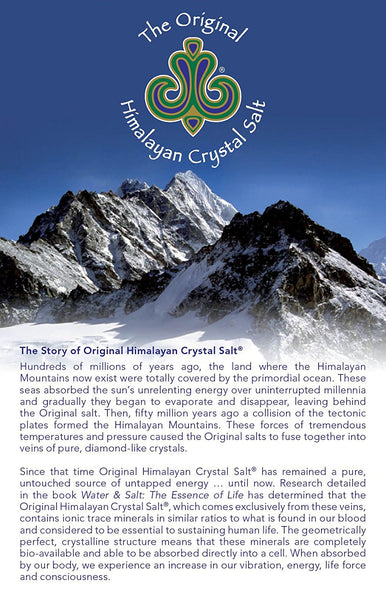 Original Himalayan Crystal Salt - Fine Granulated