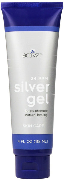 Silver Gel 24ppm - 4 oz Tube by Activz