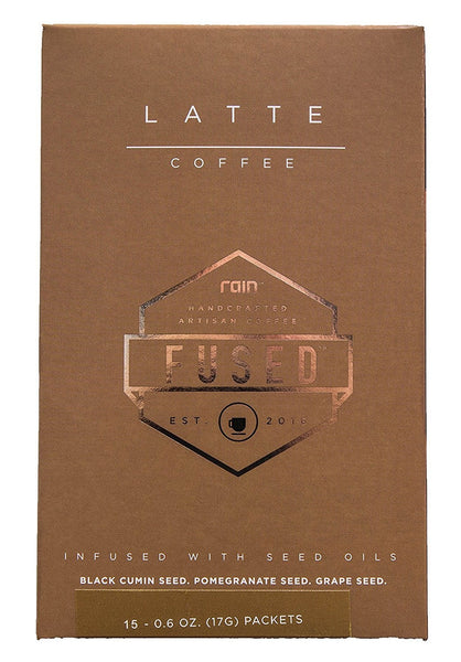 Rain International Fused Latte Coffee - 15 packet