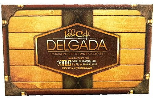 Delgada Chaga Infused Slimming Coffee - 14 Sachets