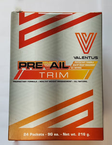 Prevail-Trim by Valentus - 24 Servings, 9g each.