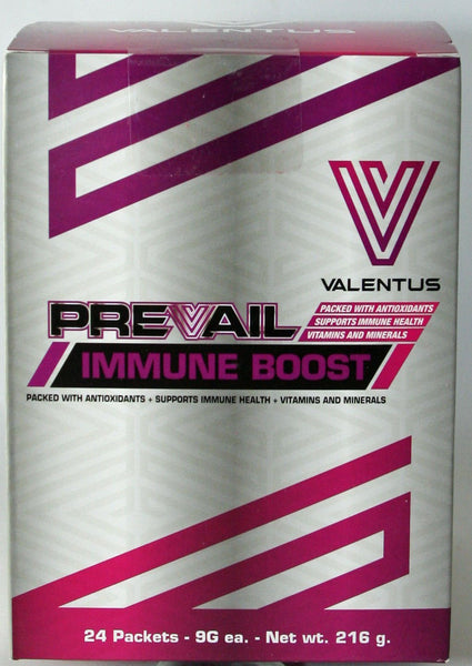 Prevail Immune Boost by Valentus - 24 Servings Packed with Antioxidants, Vitamins, minerals, to support immune health, 9g each …