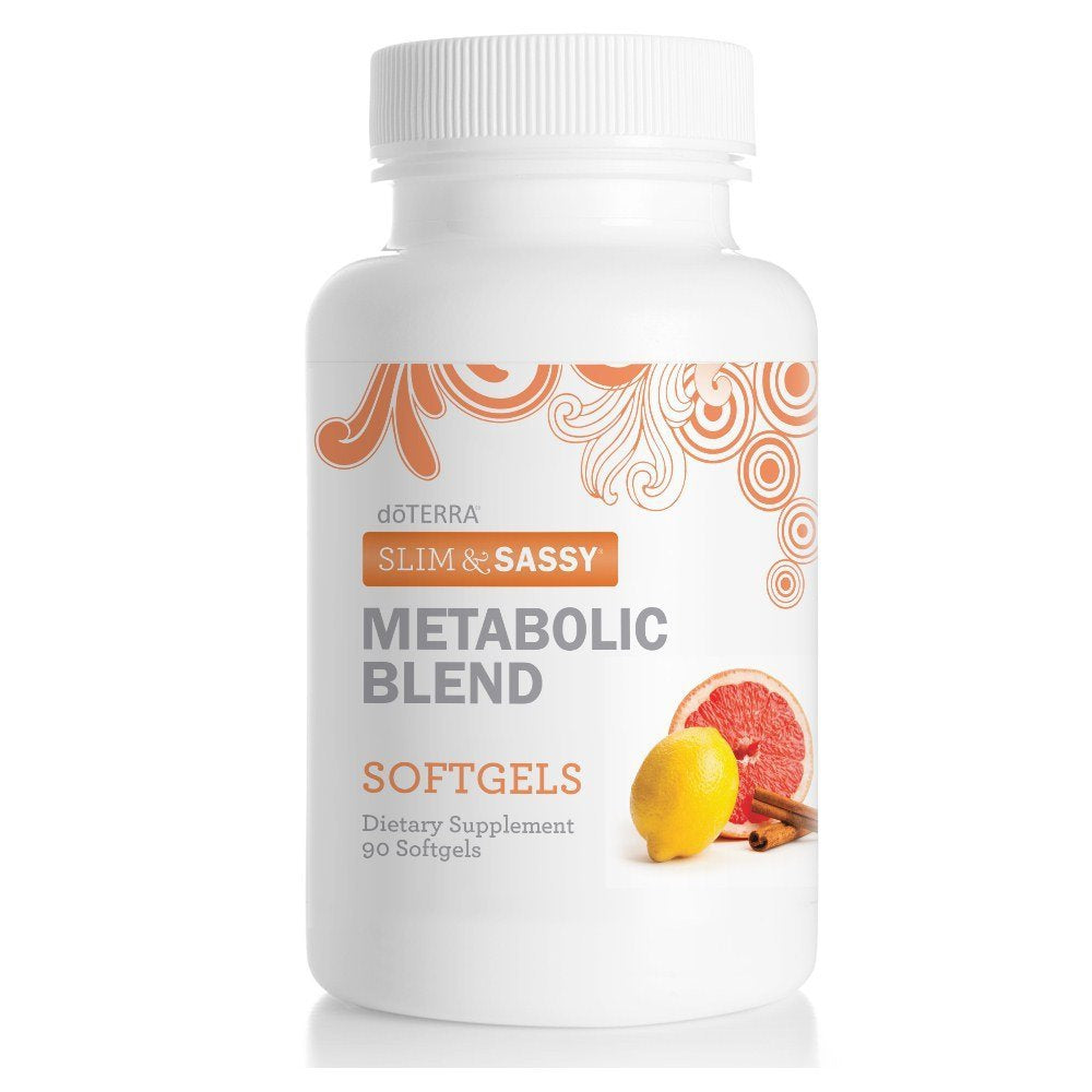 doTERRA Slim & Sassy Essential Oil Metabolic Blend Softgels 90 ct