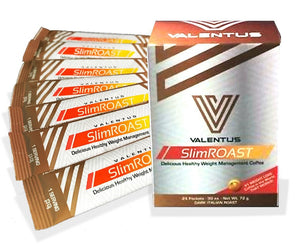 "SlimROAST Dark Italian Roast "" Delicious Healthy Weight Management Coffee"" (7 Sachets) 7 serving trial"
