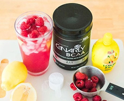 Gnarly BCAA Workout Supplement || All Natural Muscle Recovery (Lemon Lime)