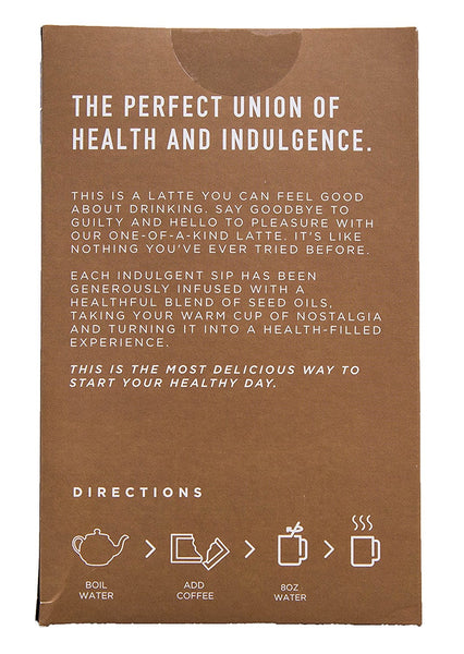 Fused Latte Coffee by Rain International 15 Packets Per Box