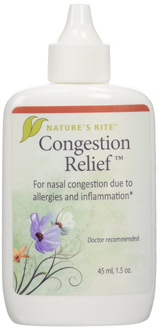 Natures Rite Congestion Relief Spray 1.5 oz