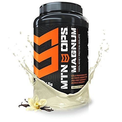 MTN OPSMagnum Whey Protein Powder, Post-Workout Muscle Growth and Recovery, Vanilla Flavor, 32 Servings per Container