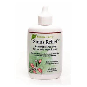 Sinus Relief Natures Rite 1.5 oz Liquid
