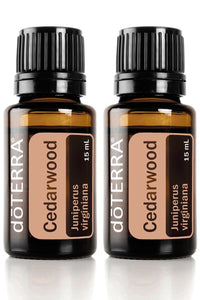 doTERRA Cedarwood Essential Oil 15 ml (2 pack)