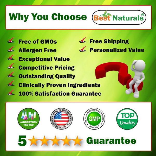 Salmon Oil 1000 mg 250 Softgels by Best Naturals - Manufactured in a USA Based GMP Certified and FDA Inspected Facility and Third Party Tested for Purity. Guaranteed!!