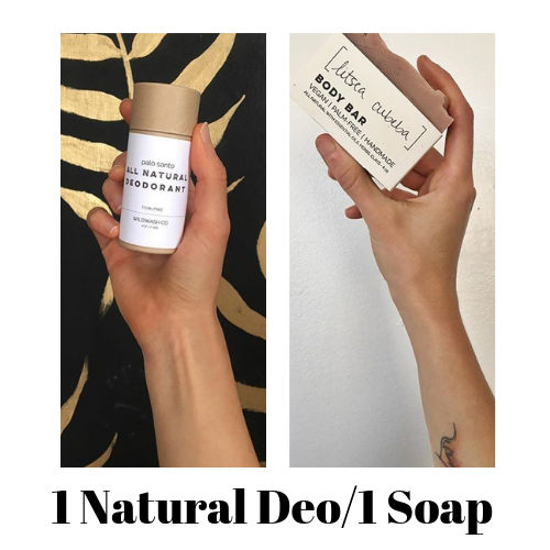 Plastic-Free Deo & Soap Combo