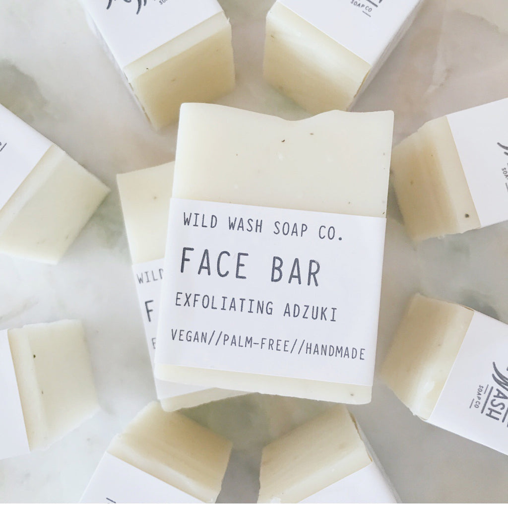 Face Wash Bar - Gentle//Exfoliating Adzuki//Detox