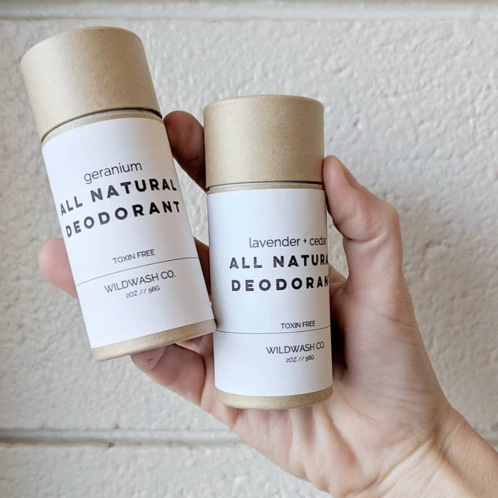 Natural Deodorant \\ Natural Deodorant that Really Works