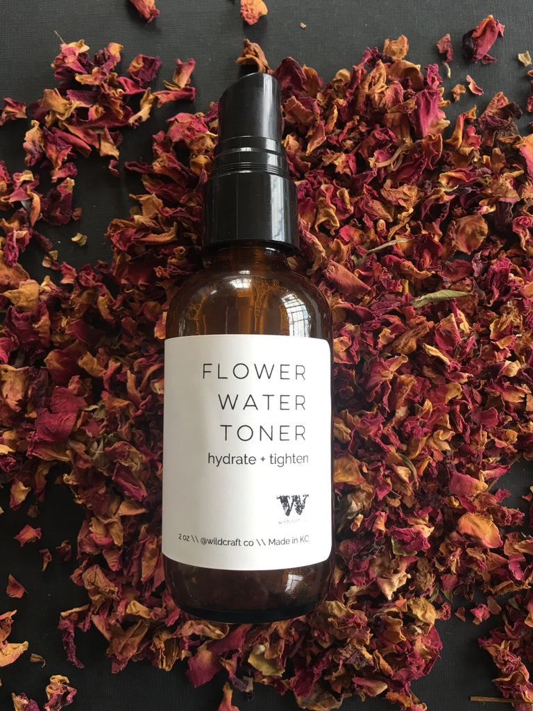 Flower Water Toner