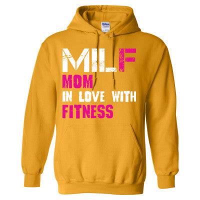 81a83171808e MILF Mom In Love With Fitness - Heavy Blend™ Hooded Sweatshirt ...