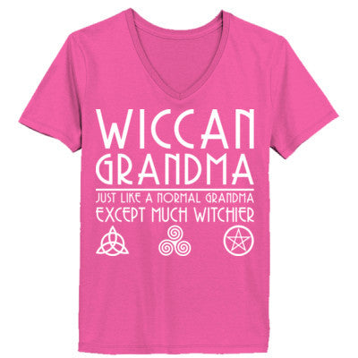 Wiccan Grandma Just Like Normal Grandma Except Much Witchier