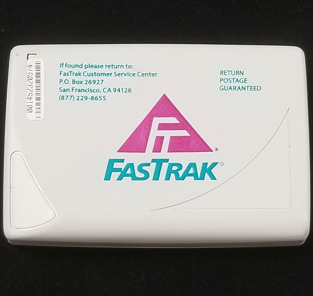 FasTrak (Northern California) Dark Charcoal