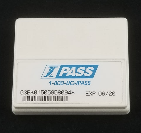 I-Pass Holder (Square, Pre 2012) - Ferrari Beige