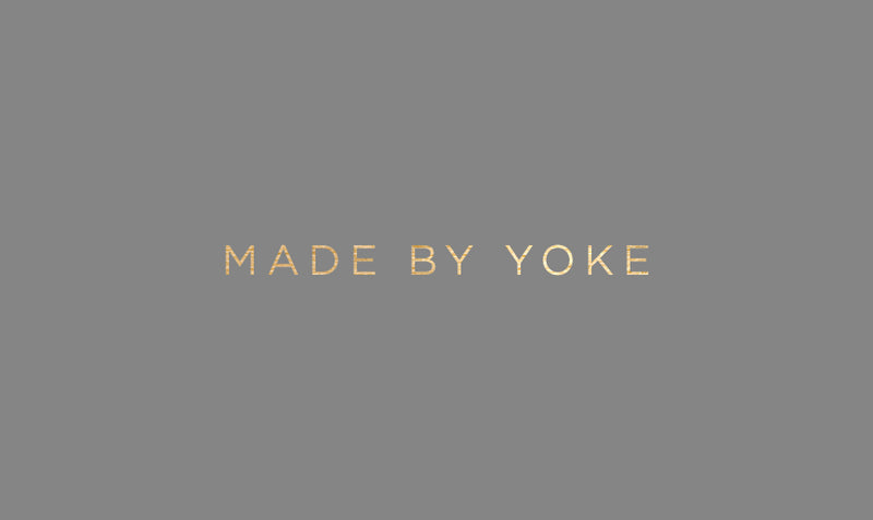 Gift card made by yoke