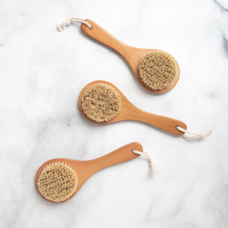 Ayurveda Vegan Dry Brushing Tool | Made by Yoke