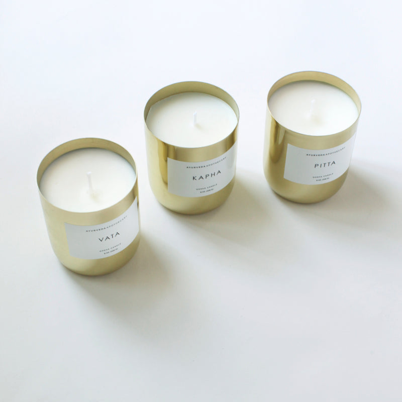 Ayurveda Pitta Dosha Candle |Made by Yoke