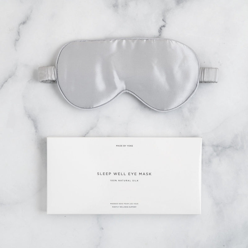 Made by Yoke Sleep Well Silk Eye Mask (New Colors)