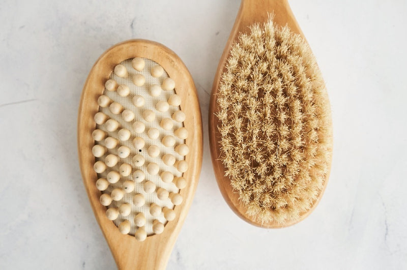 Made by Yoke Ayurveda Apothecary Dual Massage & Dry Brush