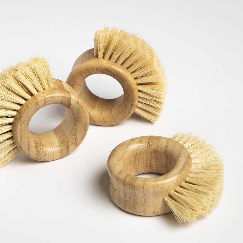made by yoke sustainable kitchen brush
