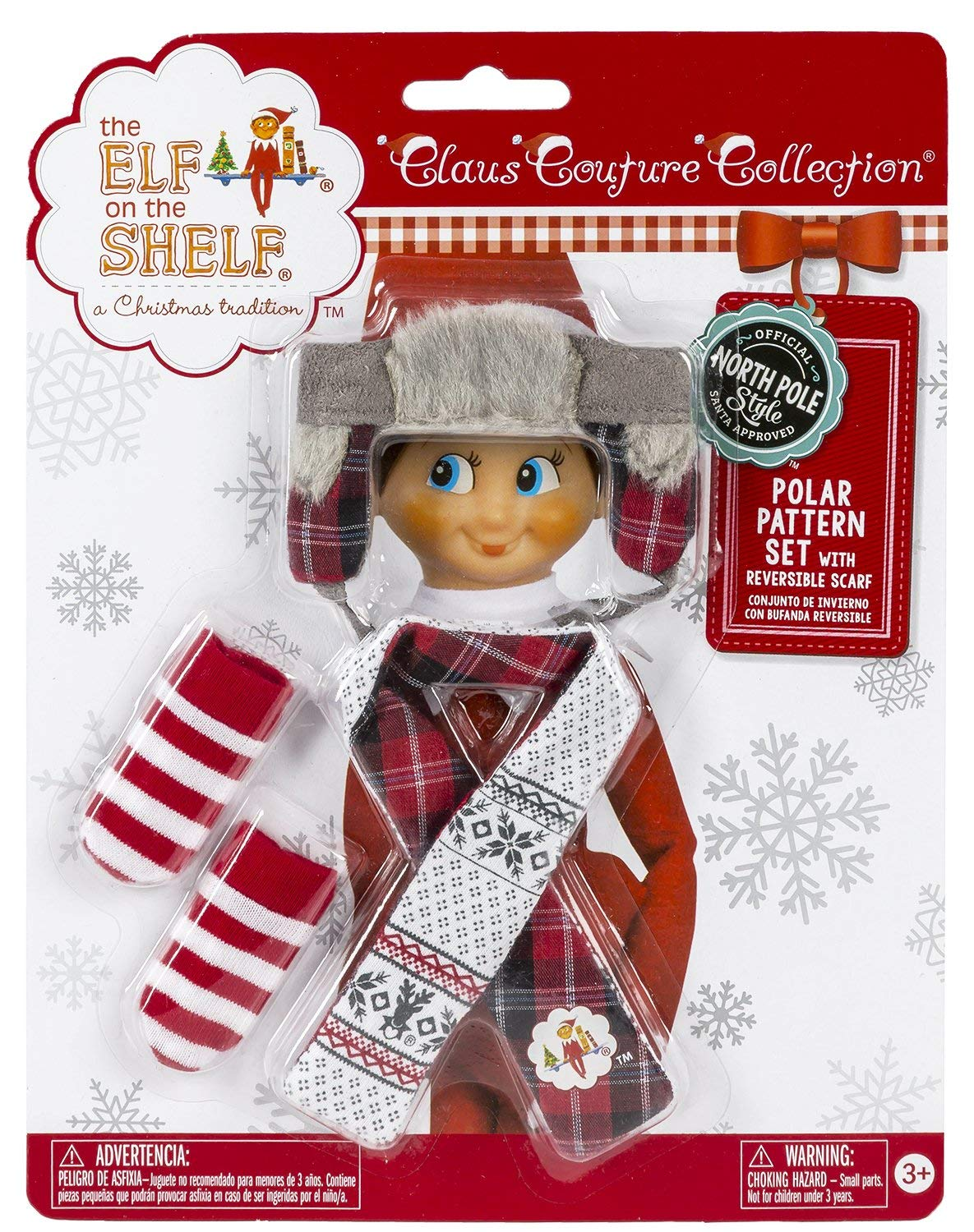 5ef605cff The Elf On The Shelf Claus Couture Collection Polar Pattern Set Costume