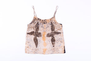M - Bush Dyed Silk Cami by Josina Mamanika