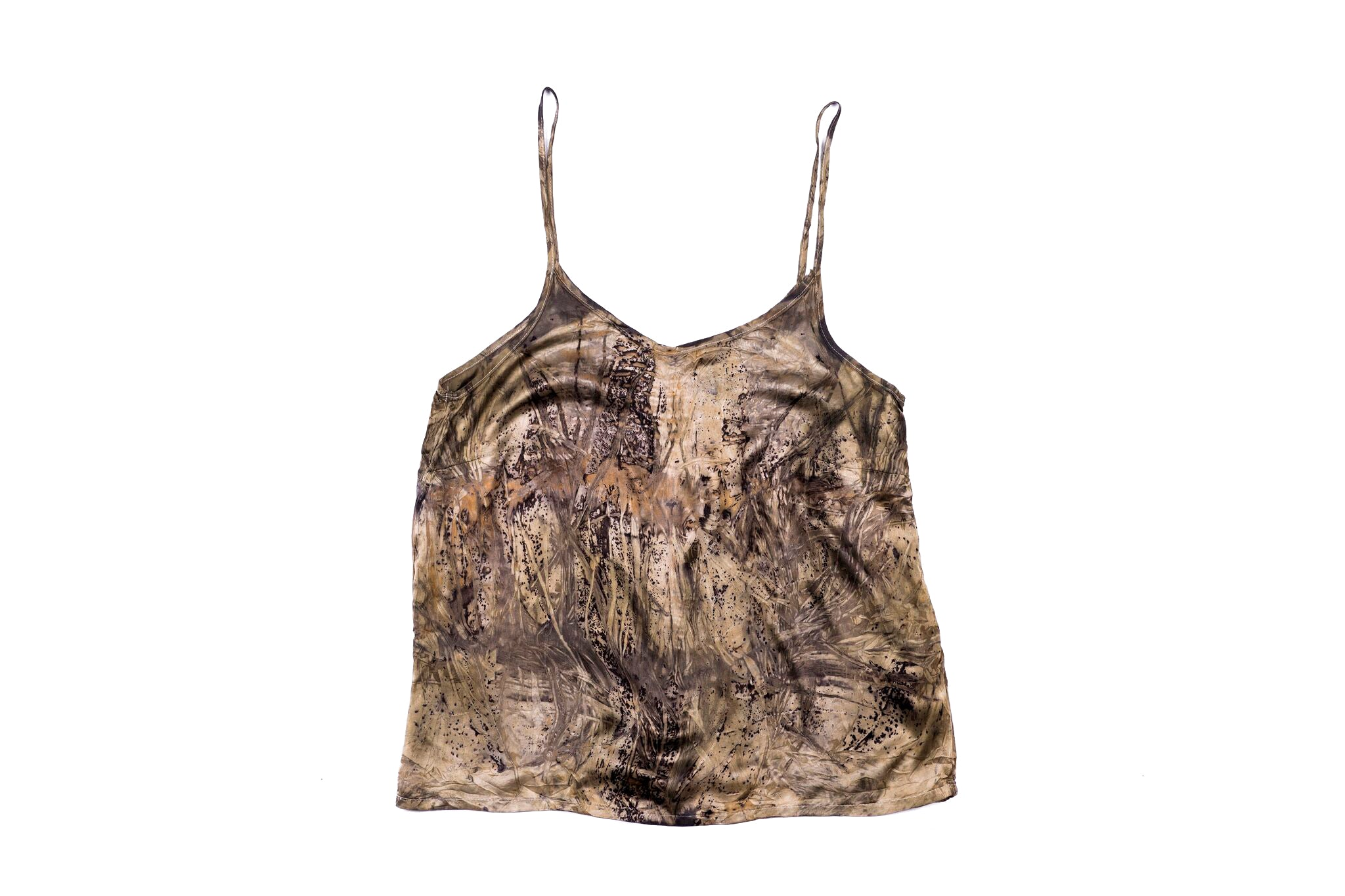 M - Bush Dyed Silk Cami by Tammy Lalara