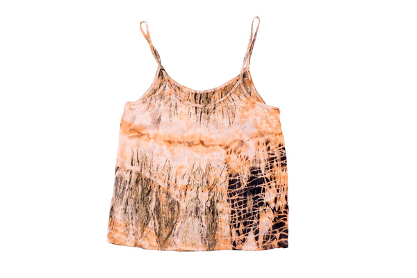 S - Bush Dyed Silk Cami by Josina Mamarika