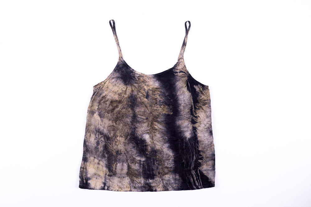 S - Bush Dyed Silk Cami by Verity Dhamawandji