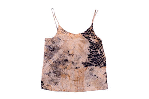 S - Bush Dyed Silk Cami by Elsie Bara