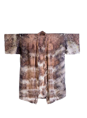 Bush Dyed Silk Robe by Bernadette Watt