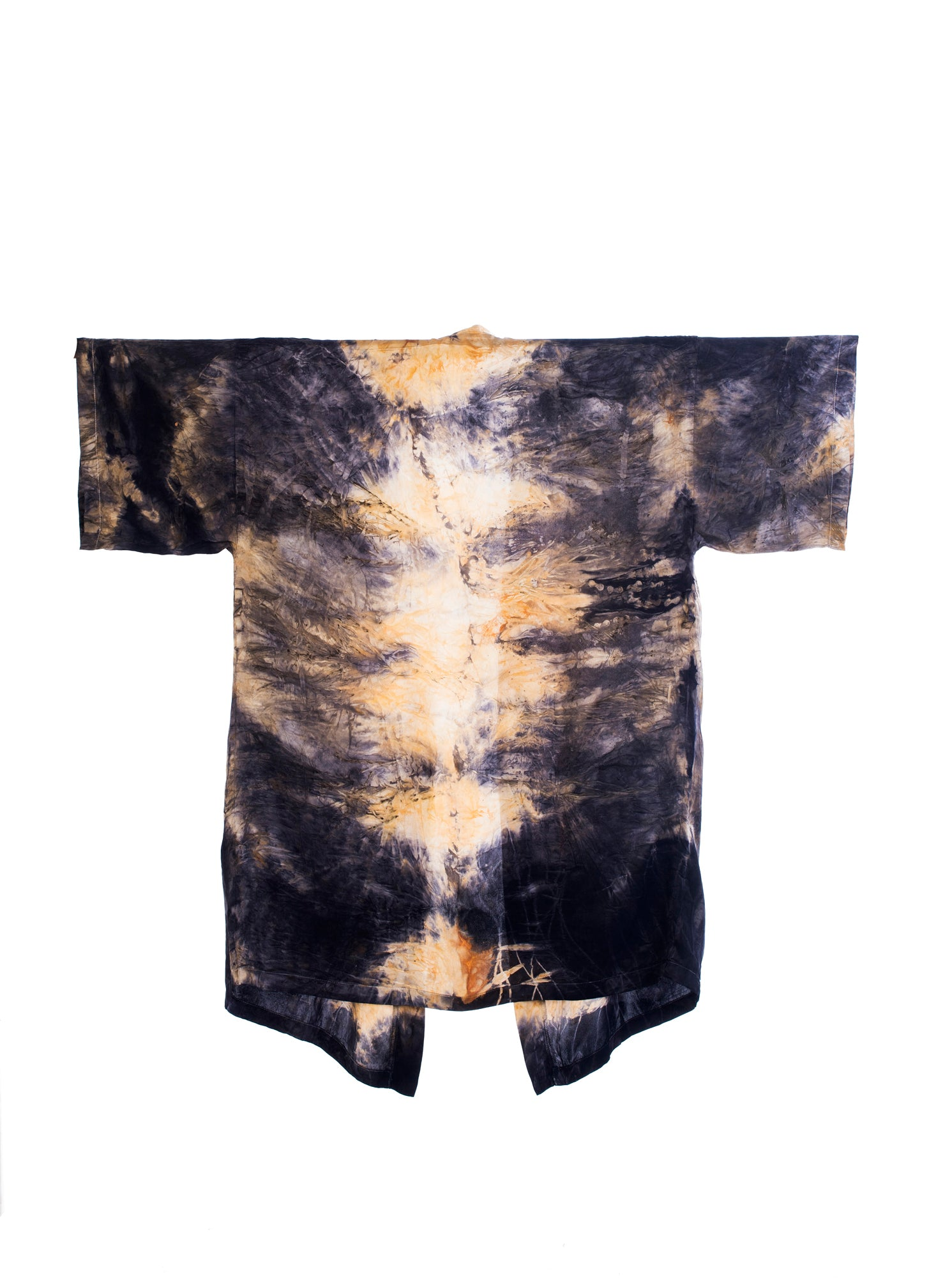 Bush Dyed Silk Robe by Verity Dhamarrandji