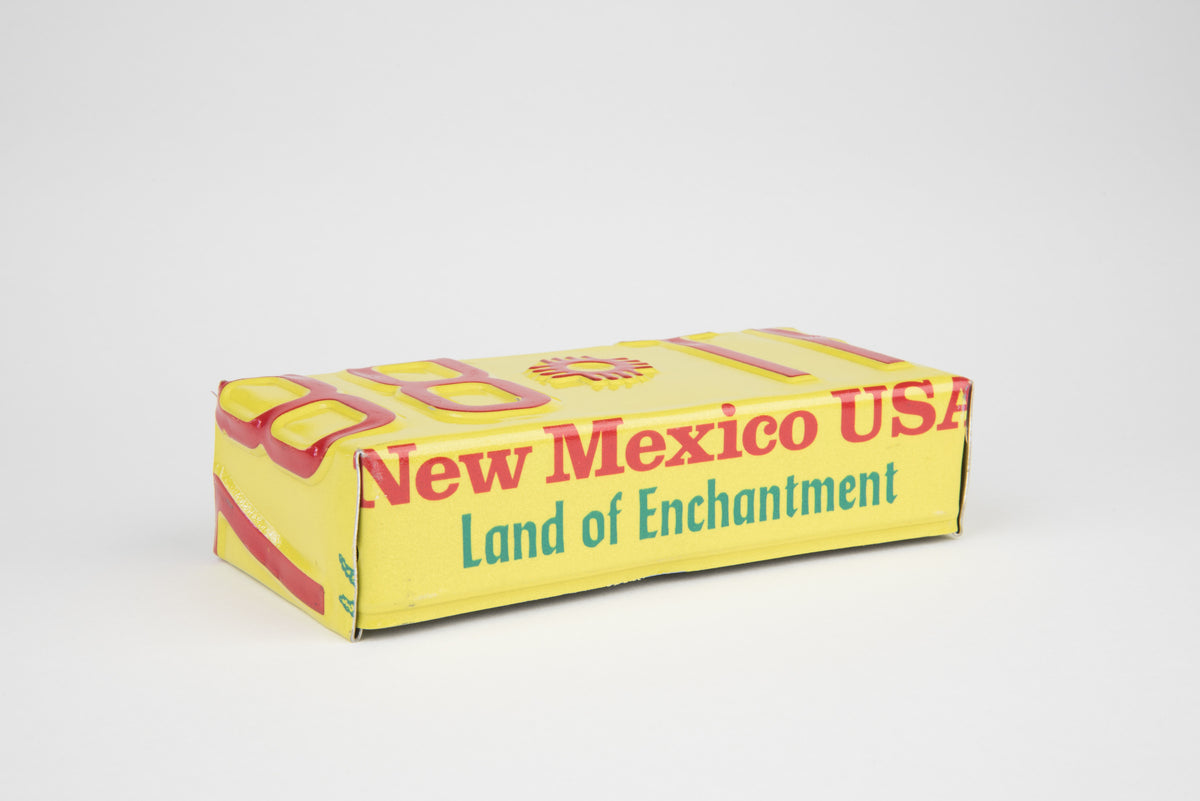NEW MEXICO TRAY  Recycled License Plate Art - Unique Pl8z