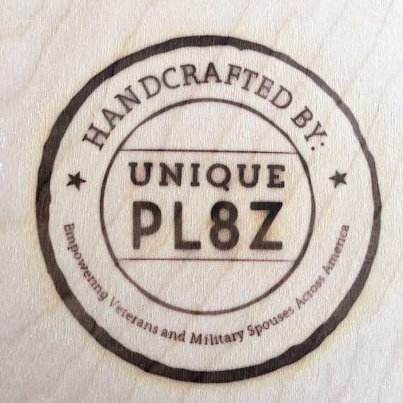 LETTER A  license plate pieces - Unique Pl8z
