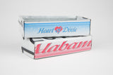 Alabama license plate box - Alabama Souvenir  Recycled License Plate Art - Unique Pl8z