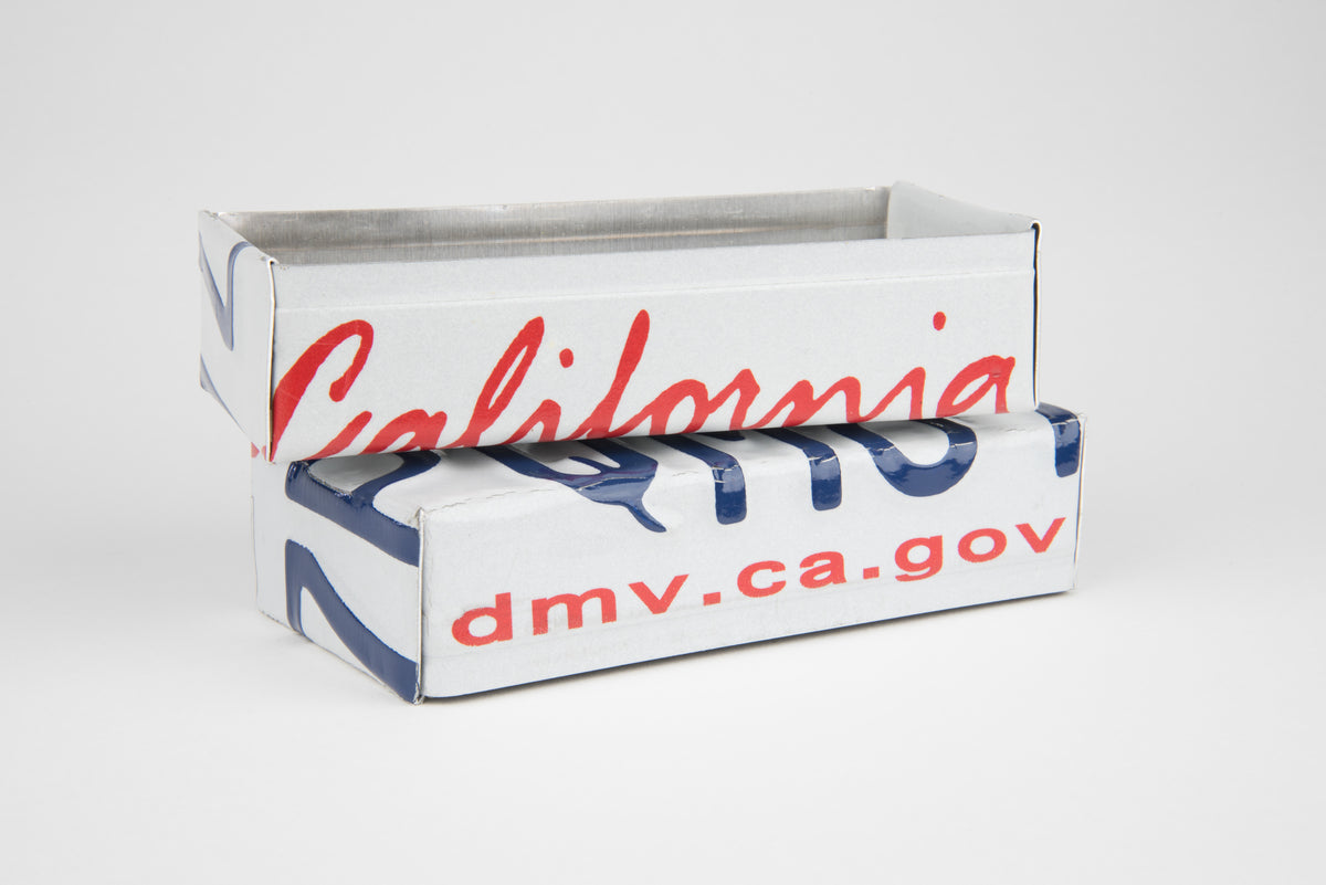 CALIFORNIA TRAY  Recycled License Plate Art - Unique Pl8z