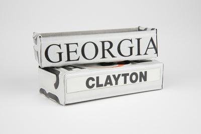 GEORGIA TRAY  Recycled License Plate Art - Unique Pl8z