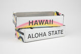 Hawaii License Plate Box - Hawaii Souvenir